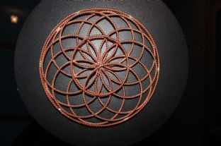 Full Cubit Flower of Life Tube Torus EMF Tensor Ring Sacred Cubit Orgone
